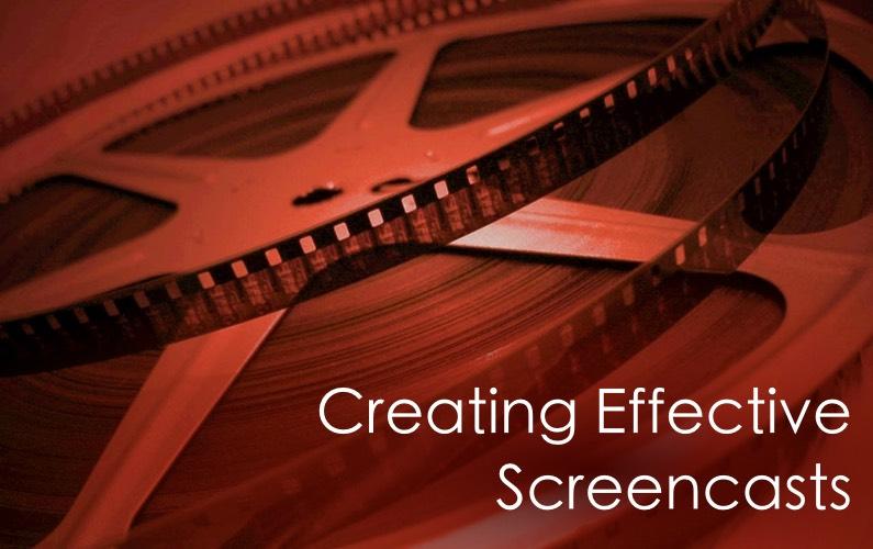 Effective Screencasting