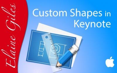 Custom Shapes in Keynote