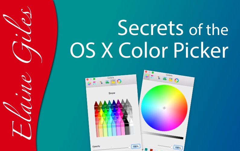 Secrets of the OS X Color Picker