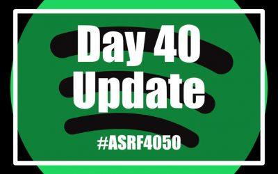 Elaine's 2,000 km Challenge – Day 40 Update