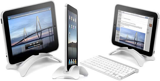 Book Arc Stand for iPad
