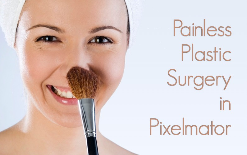 Painless Plastic Surgery in Pixelmator