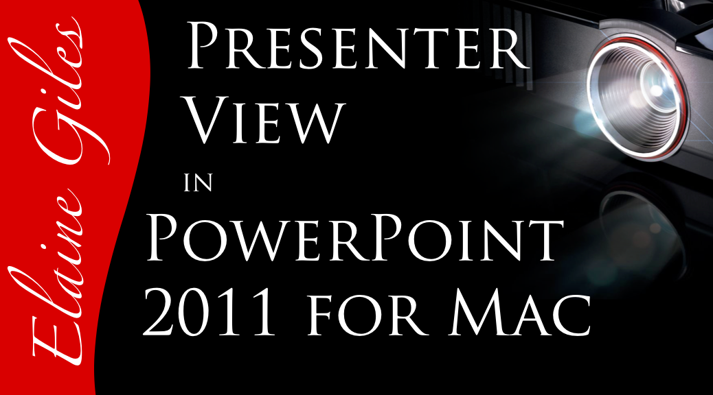 Video: Presenter View in PowerPoint 2011