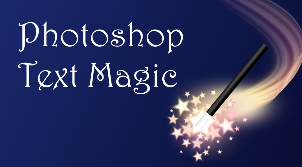 Photoshop Text Magic Poster