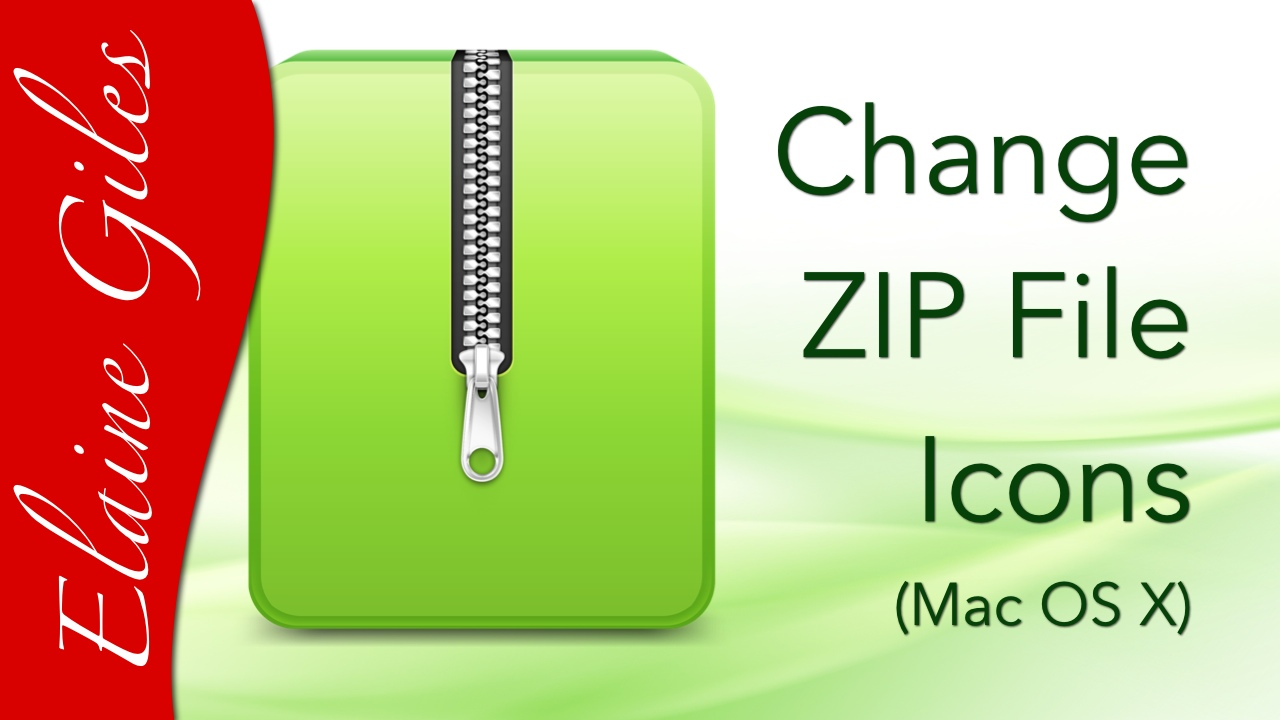 Video: Change ZIP File Icons (OS X)
