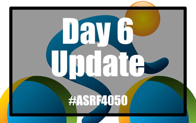 #ASRF4050 Day 6
