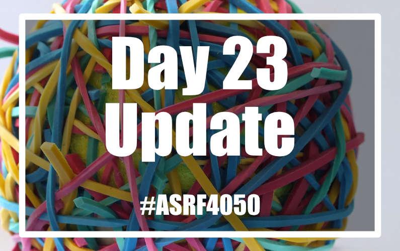#ASRF4050 Day 23