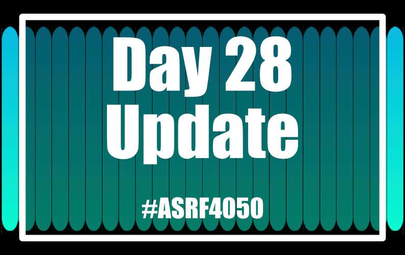 #ASRF4050 Day 28