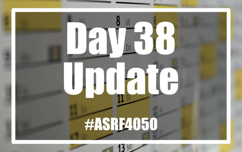 #ASRF4050 Day 38