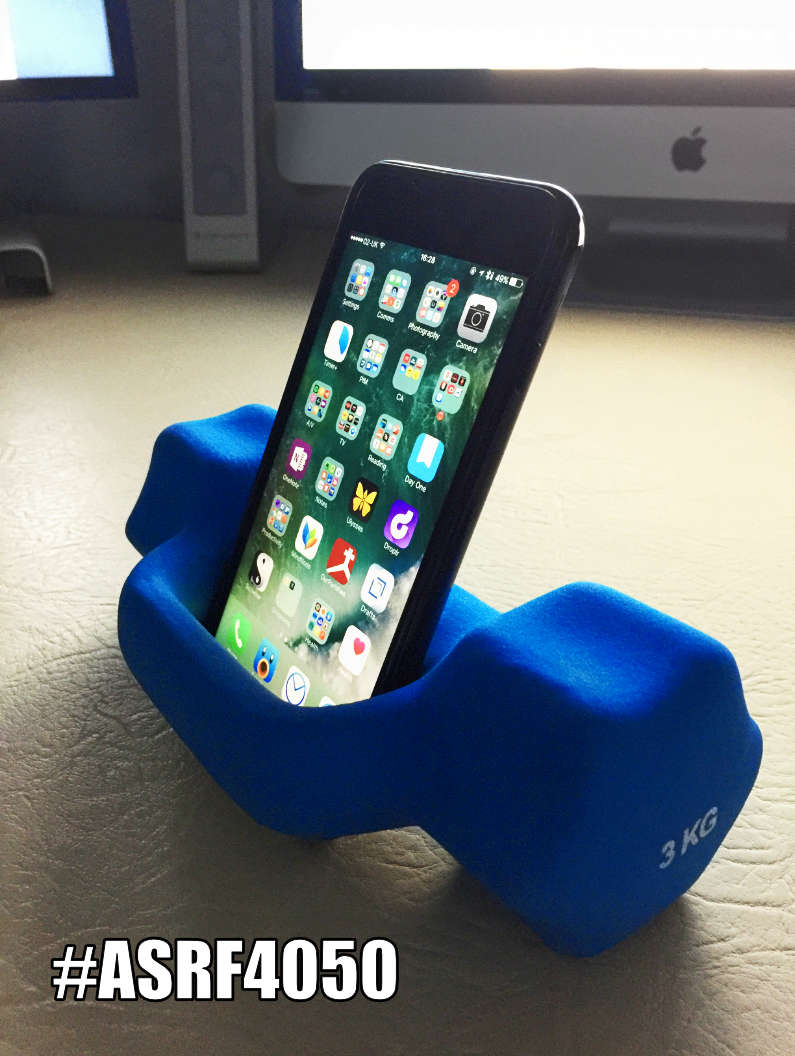 iPhone Training Weight Stand