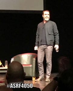Eric Cantona at The Lowry Theatre February 2017