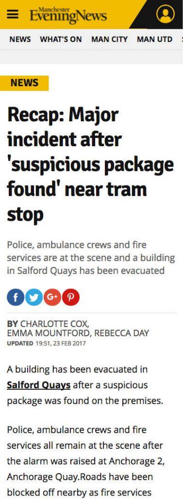 Quays Gridlock