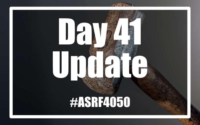#ASRF4050 Day 41