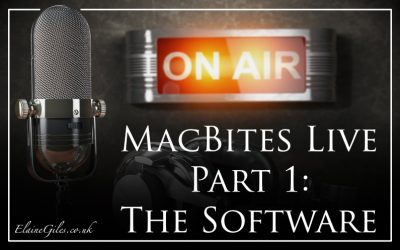 MacBites Live: Part 1: The Software