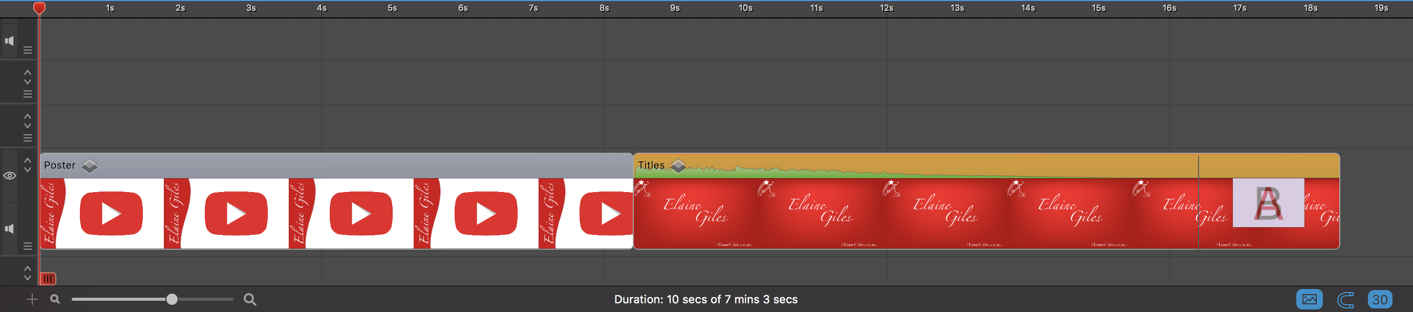 ScreenFlow 8 Timeline Thumbnails