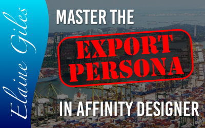 Master the Export Persona in Affinity Designer
