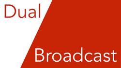 Dual Broadcast Logo